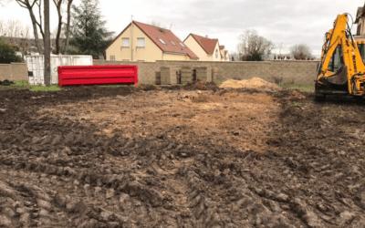 Démolition et terrassement à Aubergenville (Yvelines 78)
