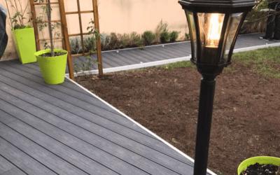 Construction d'une terrasse à Croisie en France