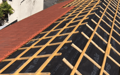 Chantier de toiture à Neauphle le Vieux