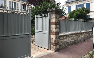 Nouvelle clôture à Neauphle-le-Vieux